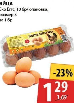 Яйца в My Market