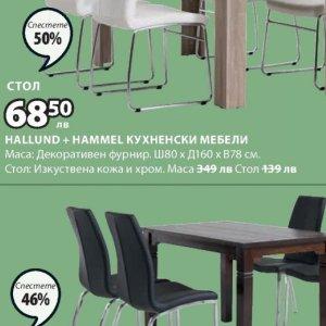 Кухненски мебели в JYSK