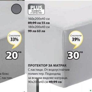 Протектор за матрак в JYSK