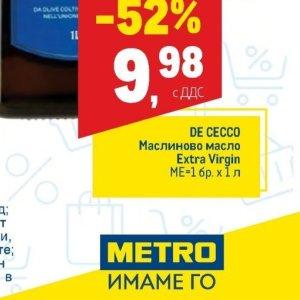 De Cecco в МЕТРО