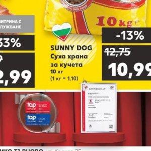Храна за кучета в Kaufland хипермаркет