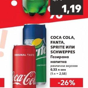 Coca Cola в Kaufland хипермаркет