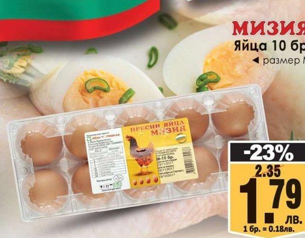 Яйца в КАМ Маркет