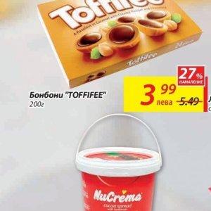 Бонбони toffifee  в T MARKET
