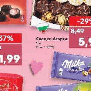 Дребни сладки в Kaufland хипермаркет