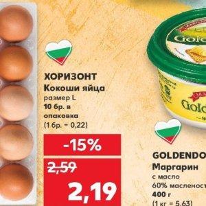 Яйца в Kaufland хипермаркет