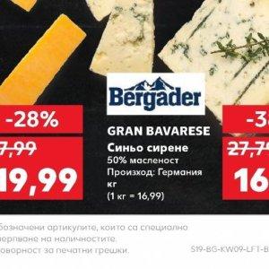 Синьо сирене в Kaufland хипермаркет