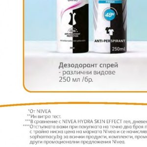 Дезодорант nivea  в Аптеки SOpharmacy