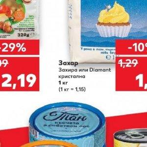 Захар захира  в Kaufland хипермаркет