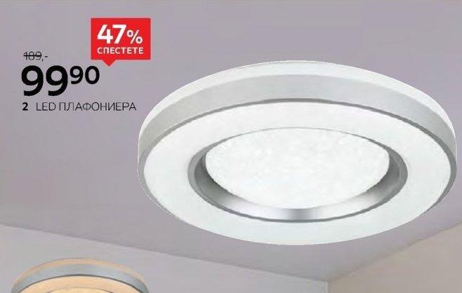 LED плафониера в Aiko