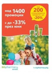 Брошура Аптеки SOpharmacy Разград