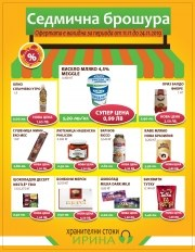 Брошура Хранителни стоки ИРИНА